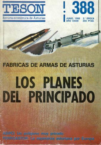 19860615 Revista Teson - Los planes del Principado - Portada