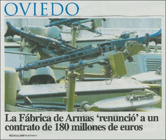 20130629 AsturiasDiario - La Fabrica de Armas renuncio contrato
