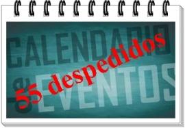 Calendario eventos 55 despedidos