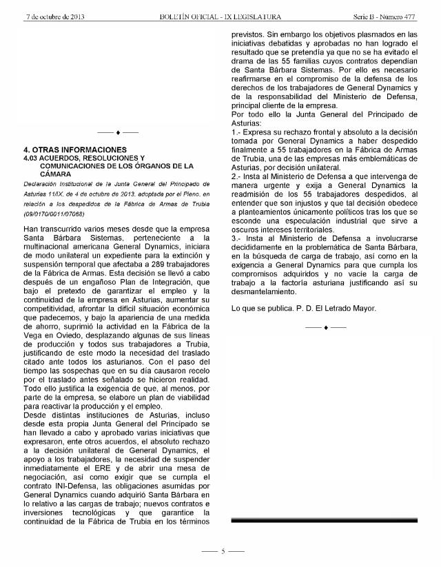 20131007 Boletón Oficial JGPA - Declaración institucional - 9B-477 - Pag_5