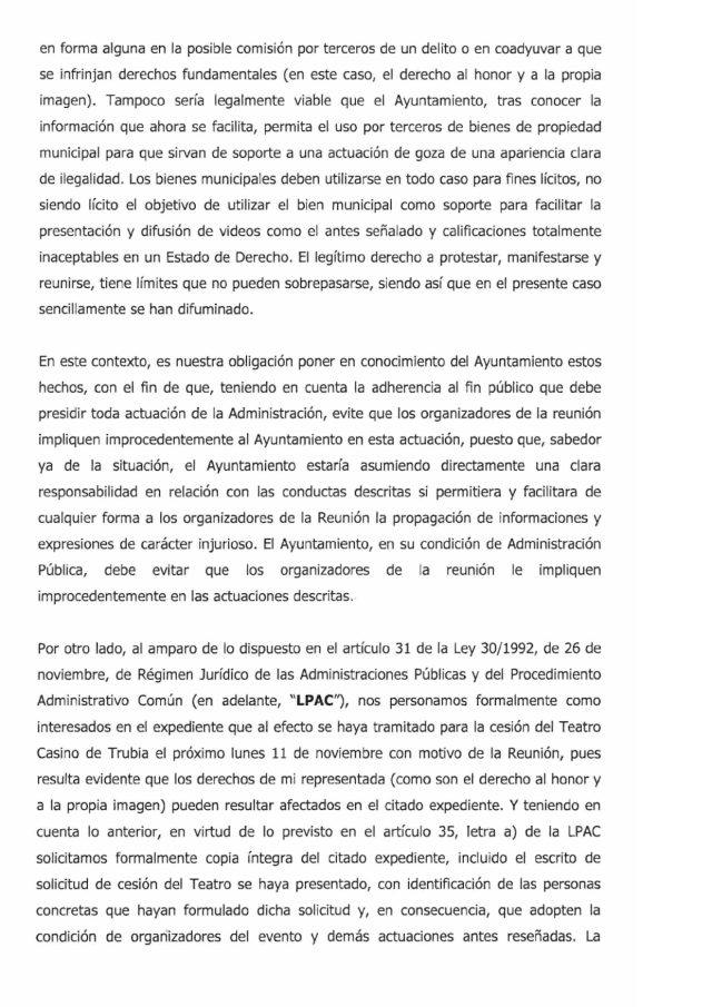 20131105 Requerimiento al alcalde Oviedo - hoja 2
