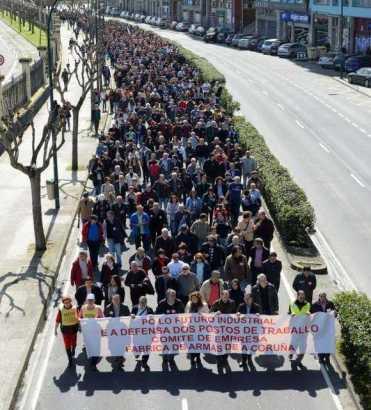20140105 La Opinion A Coruña - Manifestacion