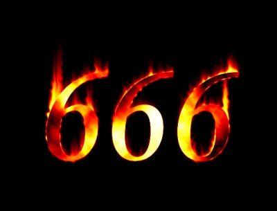 666 quemando