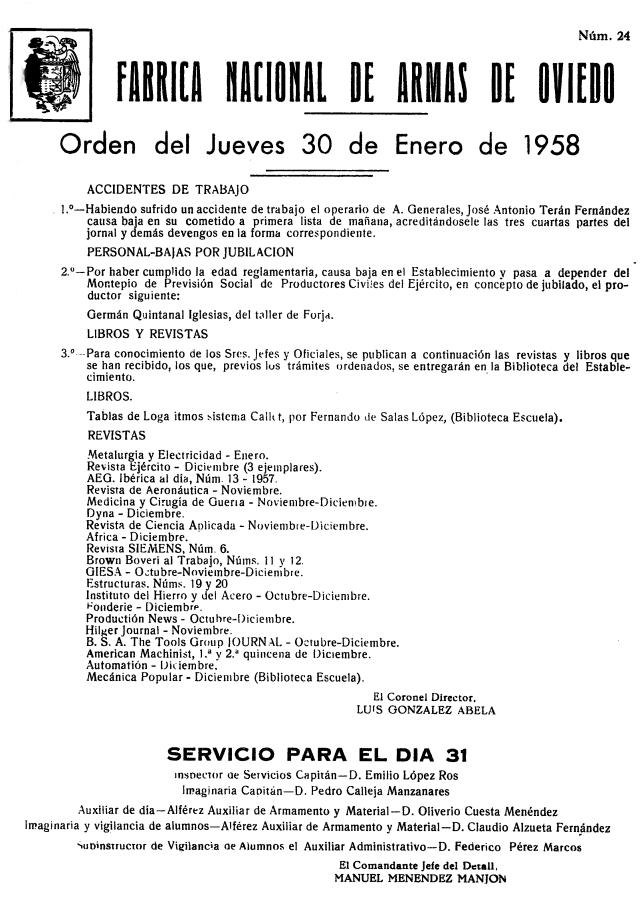 19580130 Libro en el rastro de Oviedo