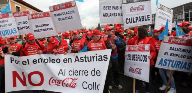 20140209 El Comercio - ERE Coca Cola - Foto 4 detalle