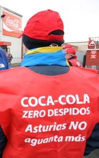 8-2-2014 MARCHA DE LOS TRABAJADORES DE COCA-COLA A OVIEDO.FOTO:PABLO NOSTI