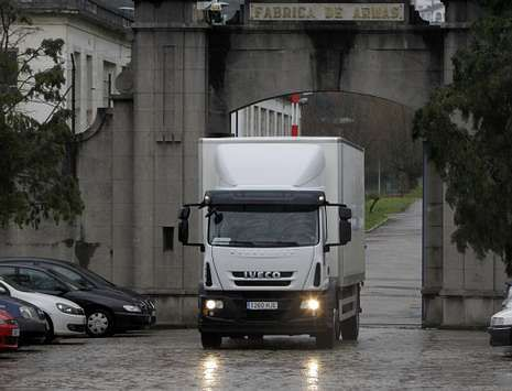 20140215 La Voz Coruña -Camion