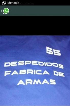 55 DESPEDIDOS - Logo