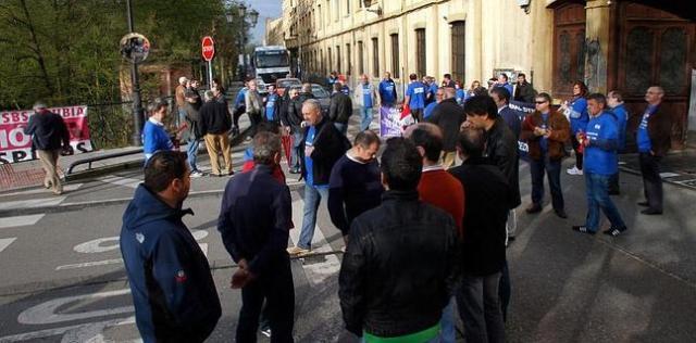 20140410 El Comercio - Protestas Trubia