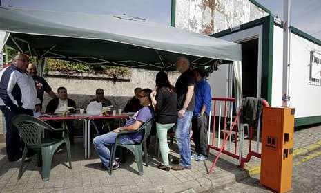 20140416 - La Voz de Galicia - Acampada
