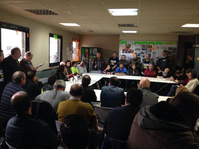 Tenneco - Primera reunión - Fuente 55 despedidos GD