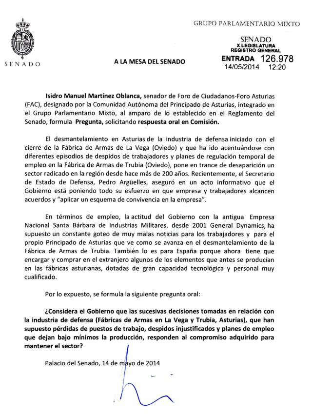 20140514_Pregunta Oblanca_intervencion_Defensa