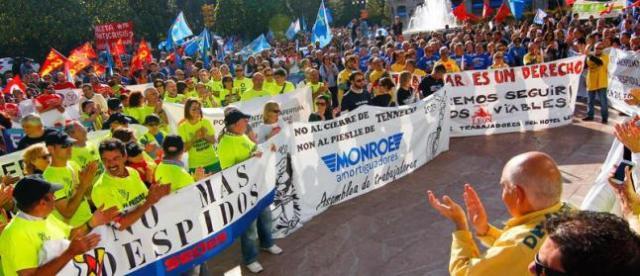 20140517 LNE - Manifestantes Escandalera