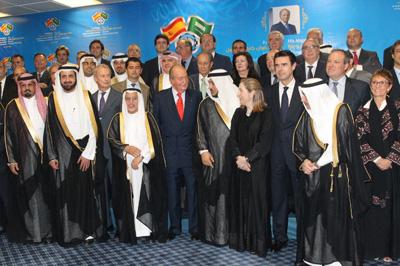 20140519 Infodefensa Rey-Arabia-delegacion