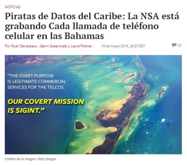 20140519 The Intercept - Noticia interceptar llamadas