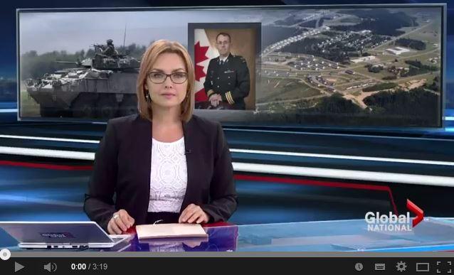 20140524 Global News - Soldado muerto durante entrenamiento