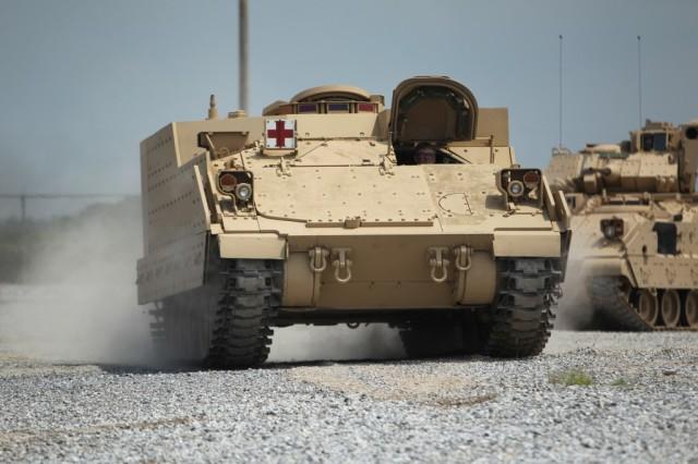 20140528 BAE-AMPV-ambulance-turretless-Bradley