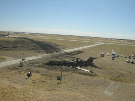 20110402 Accidente Gulfstream - Vuelo de prueba