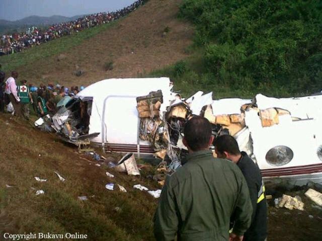 20120212 Gulfstream IV - Accidente Bukavu 6 muertos