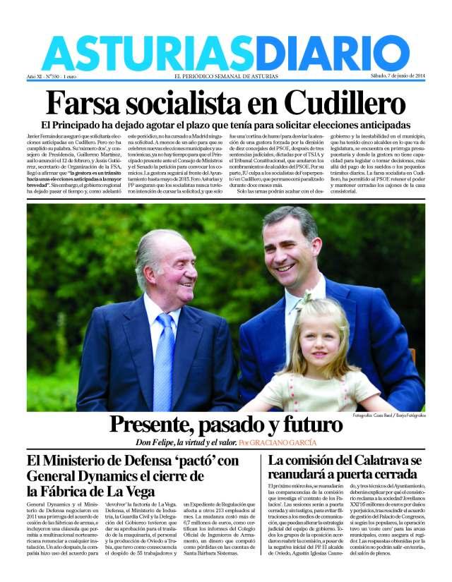 20140607 Asturis Diario - Portada