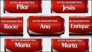 20140612 Coca Cola - Estas readmitida