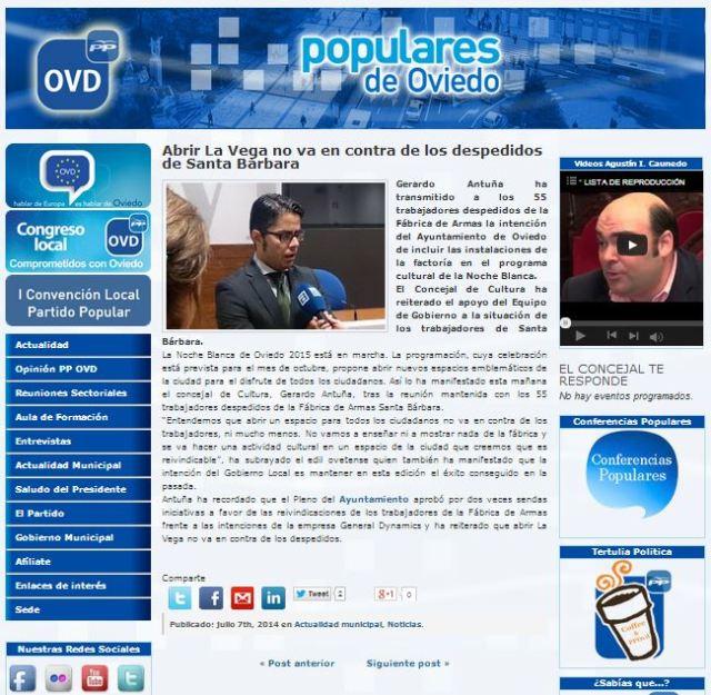 20140707 PP Oviedo - Abrir La Vega