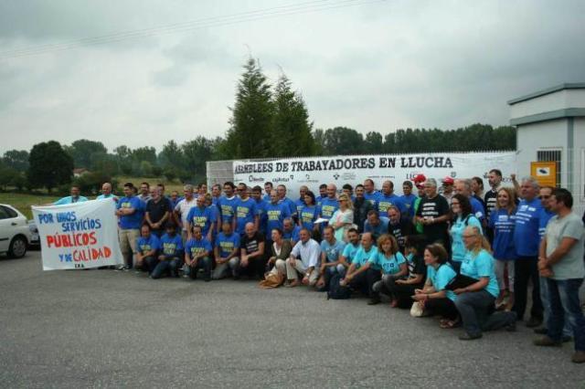 20140729 - LNE - Trabajadores Matedero Asturias