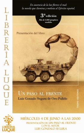 Un paso al frente - Luis Gonzalo Segura edicion 3