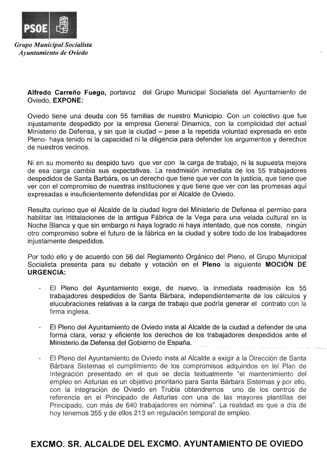 20140925 PSOE Grupo municipal Oviedo