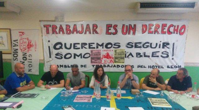 20141003 Asturias24 - Tania dona un tercio de su sueldo