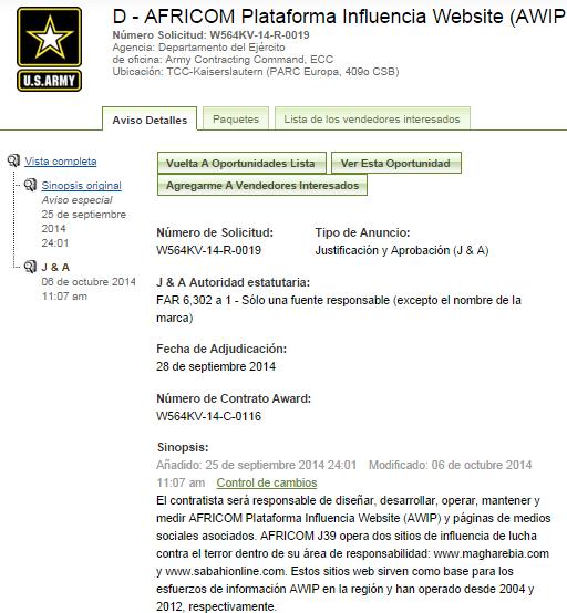 20141006 Contrato AFRICOM