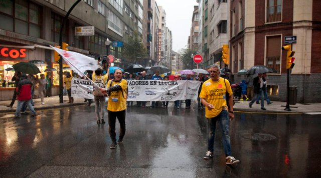 20141016 Asturias24 - Manifestación
