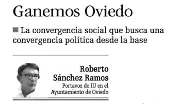 20141024 LNE - Ganemos Oviedo