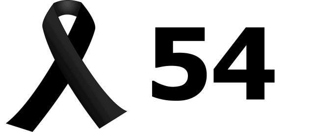 Crespon luto 54