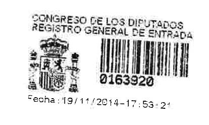 20141119 Sello Registro PNL a la Comisión de empleo