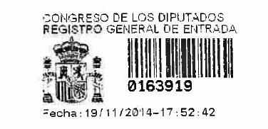20141119 Sello Registro PNL al Congreso Diputados