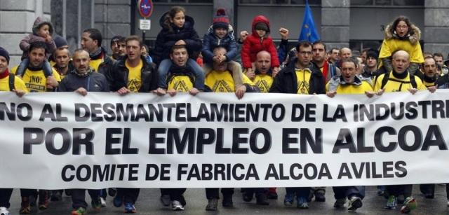 20141208 El Comercio - trabajadores de Alcoa