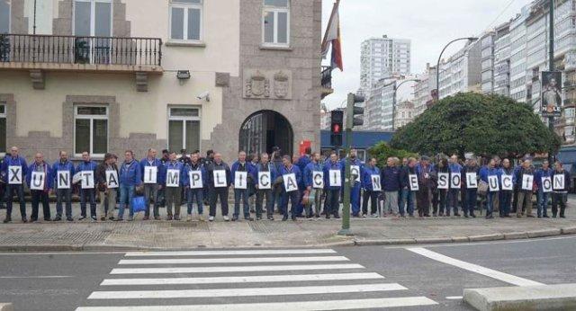 Protestas trabajadores de la Fábrica de Armas
