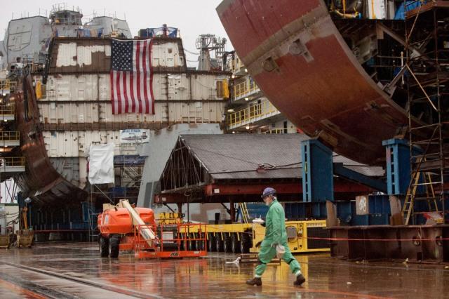 Shipbuilding at Bath Iron Works