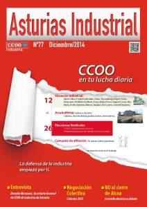20141231 CCOO - Revista Asturias Industrial CCOO - Portada