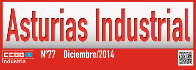 20141231 CCOO - Revista Asturias Industrial - Portada detalle
