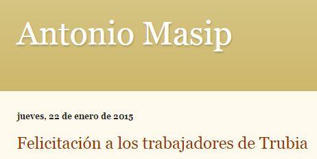 20150122 Antonio Masip