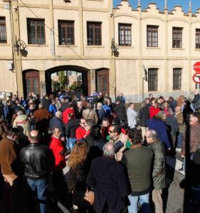 20150123 LNE - Protesta en Trubia