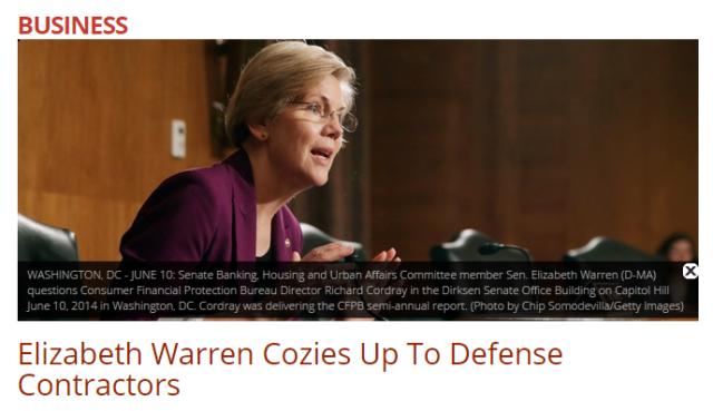 20150213 Daily Caller - Elizabeth Warren