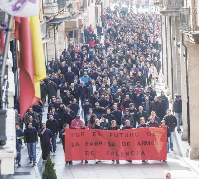20150317 Diario Palentino - Manifestacion