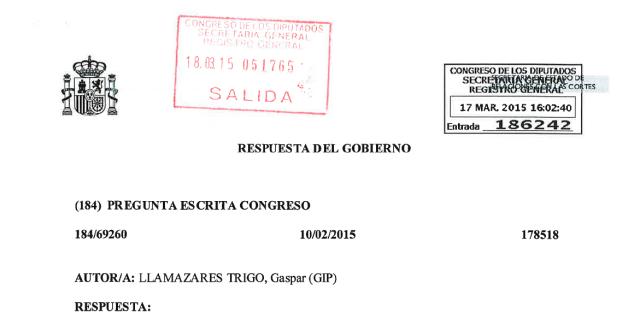 20150317 Respuesta Gobierno - Cabecera