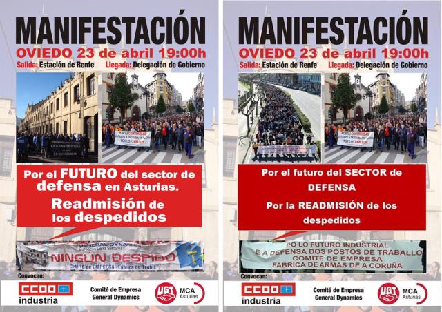 20150423 Cartel manifestacion Oviedo - Coruña