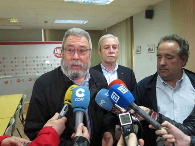 20150424 Europapress - Mendez UGT recuerda que el PP vendio SBS