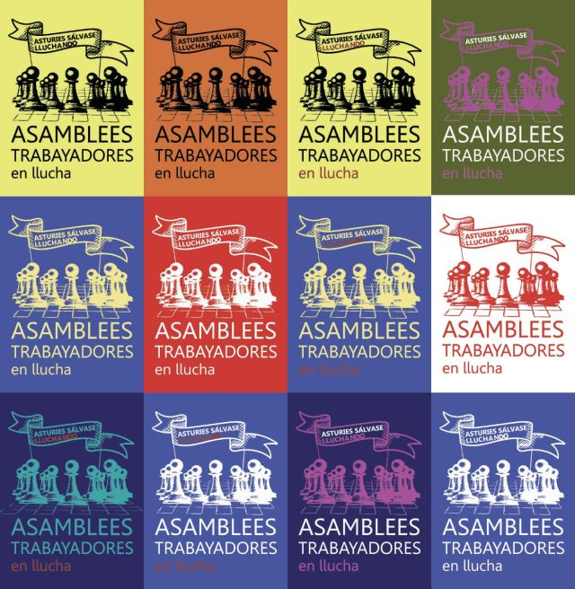 Camisetas Asambleas trabayadores