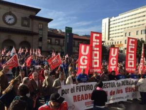 La Opinion A Coruña - Trabajadores de la FAC en Oviedo